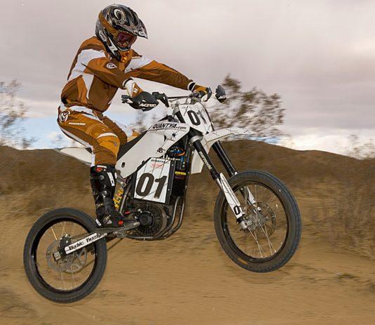 Quantya electric motorcycle
