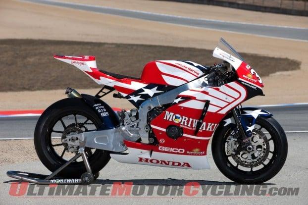 Barber Honda : Moto2: American Honda Barber Test - Ultimate MotorCycling Magazine