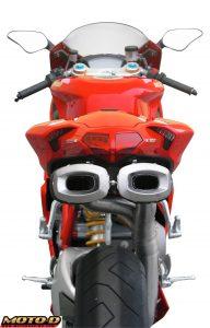Spark Ducati 1098 Exhaust Moto-D Racing