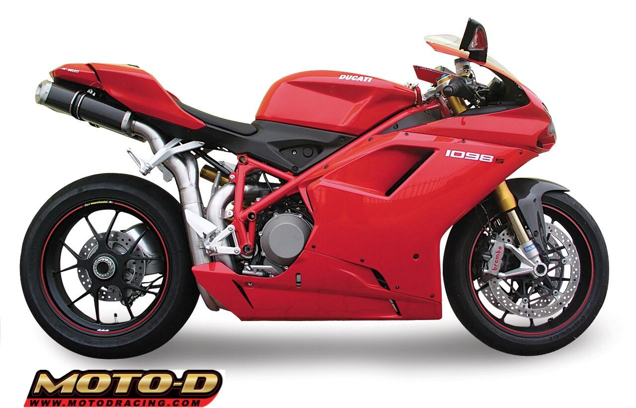 Spark Ducati 1098 Exhaust