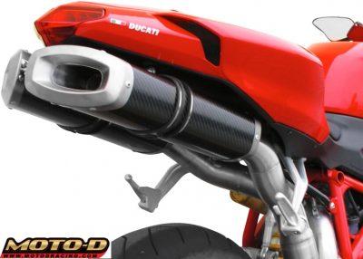 Spark Ducati 1098 Exhaust Sound