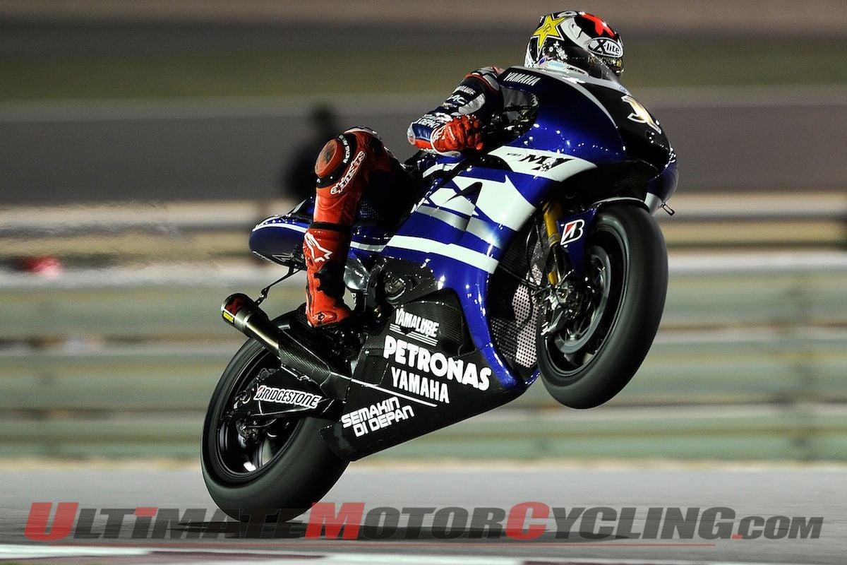 Qatar MotoGP   Jorge Lorenzo Wallpaper