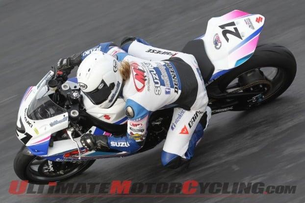 2011-ama-supersport-elena-meyers-breaks-arm 5