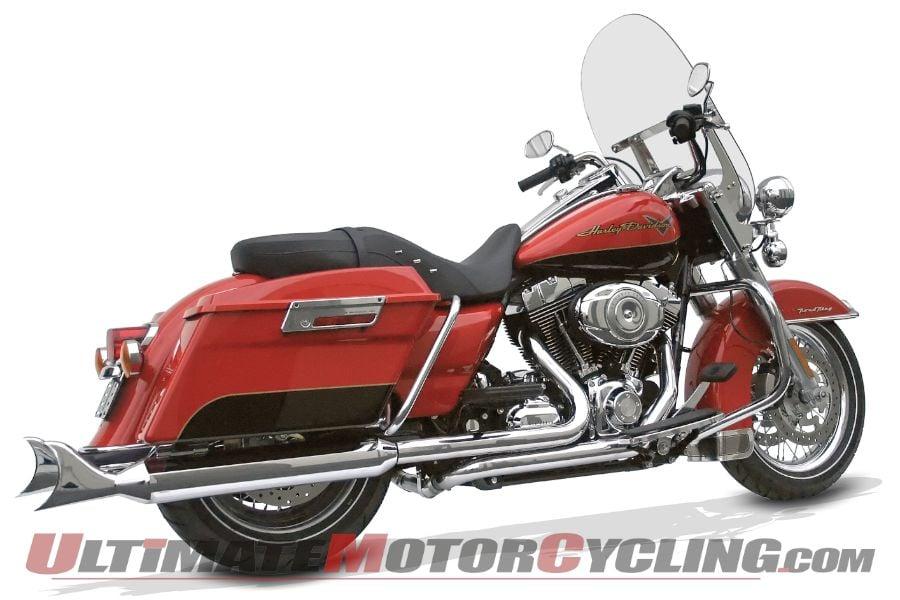 Samson True Dual Crossunder Harley Mufflers