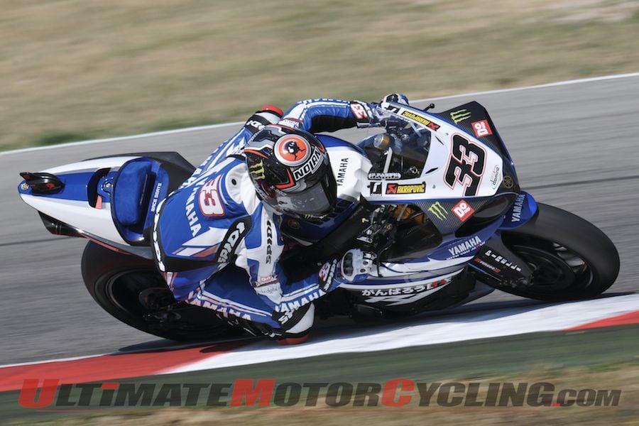 2011-melandri-controls-misano-superbike-tests