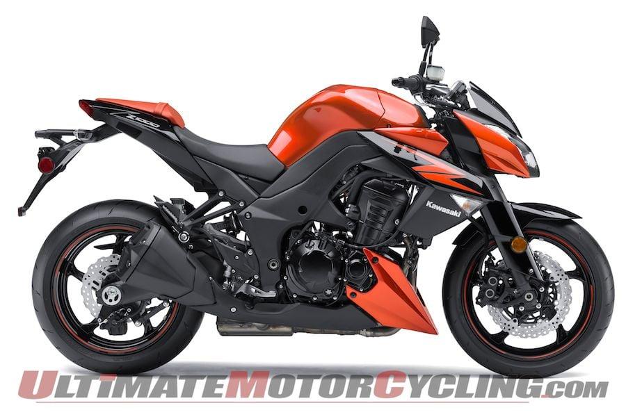 2012 Kawasaki Z1000 Preview