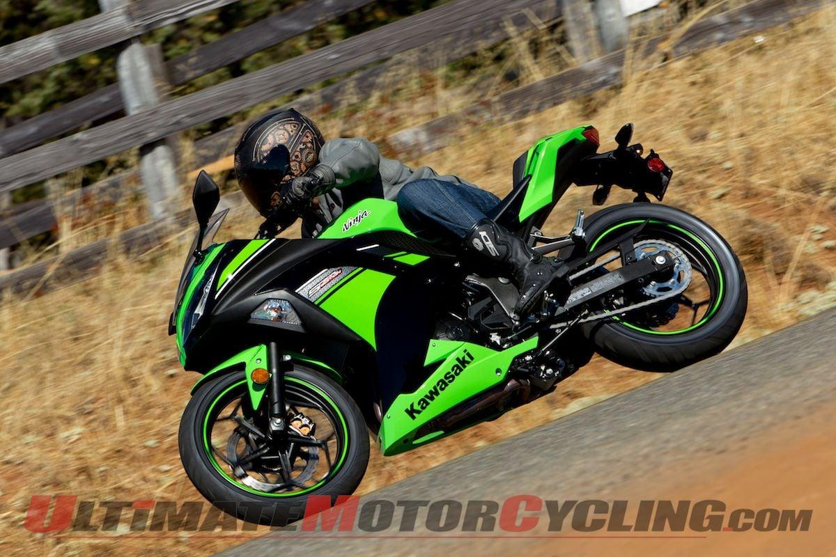 2013 Kawasaki Ninja 300 First Ride Review Green Abs Photo Gallery
