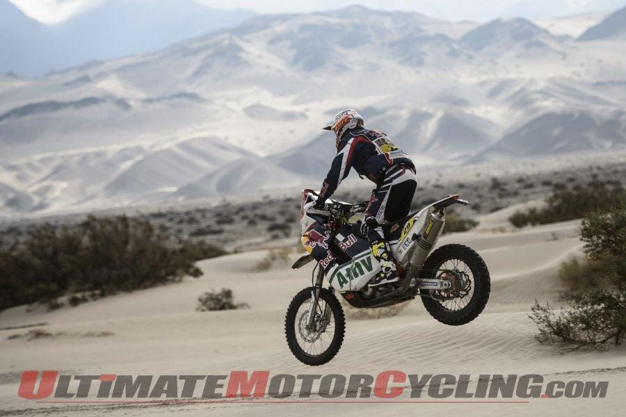2013 Dakar Stage 11 Results | KTM's Caselli Again