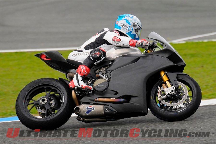Ducati Alstare Completes 3-Day Jerez Superbike Test