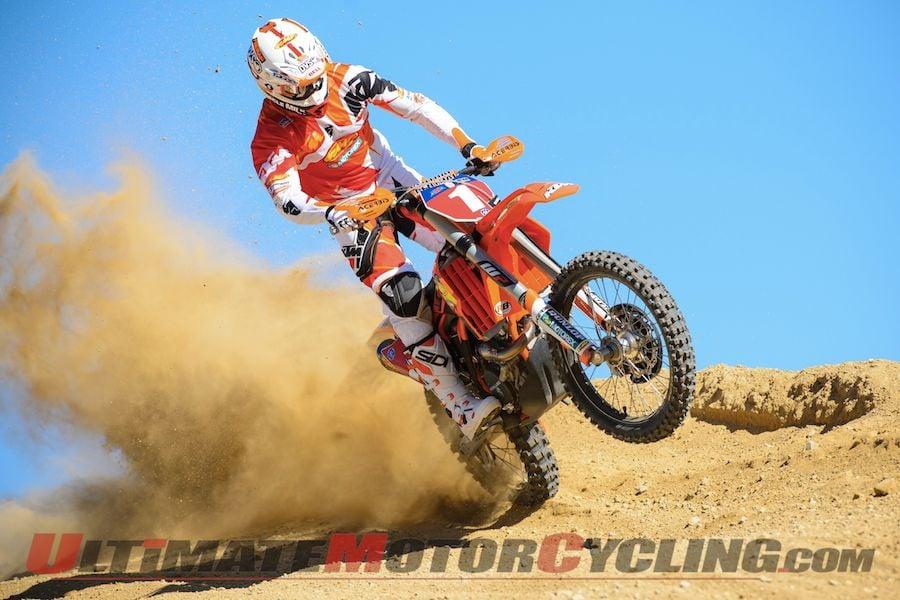 KTM's Caselli Sacrifices Points to Help Injured Rider