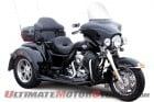 Harley-Davidson Tri-Glide with Lehman Trike accessories.
