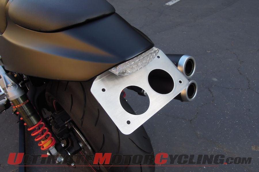 Storz Performance LED Tail Lamp Kit for Harley XR1200