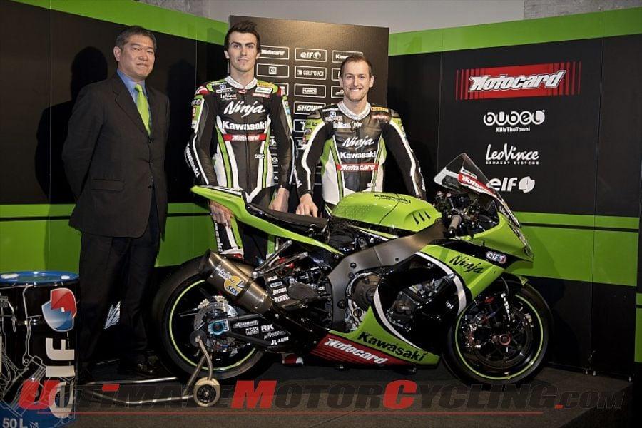 Kawasaki: 2013 World Superbike Launch in Barcelona