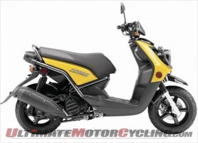 2009 Yamaha Zuma 125 Recall