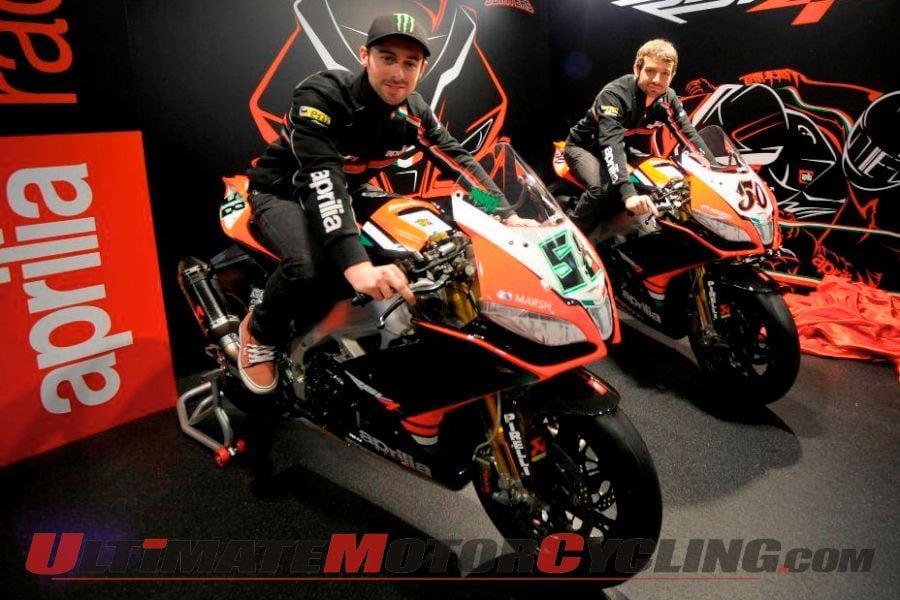 Aprilia Racing Launches 2013 World Superbike Team