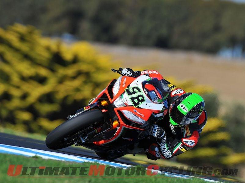 Ducati's Checa Tops Phillip Island Superbike Test