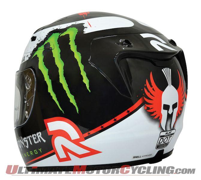 Lorenzo & Spies Replica HJC RPHA 10 Motorcycle Helmets