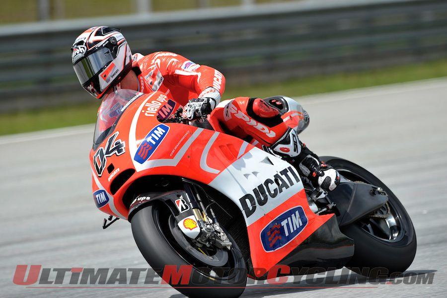 Honda's Pedrosa Tops Sepang II MotoGP Test, Day 1