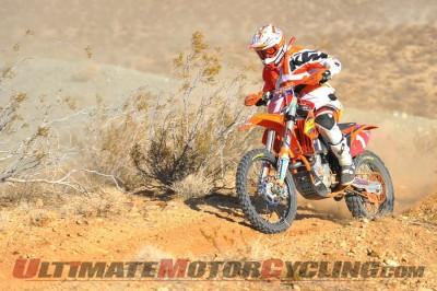 FMF KTM's Kurt Caselli