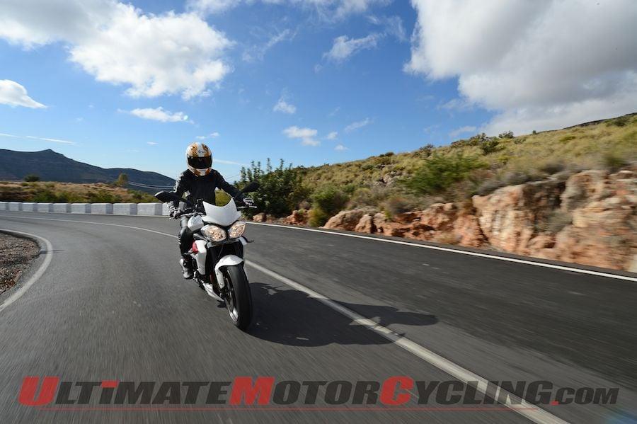 2013 Triumph Street Triple R | Review While Touring Almeria