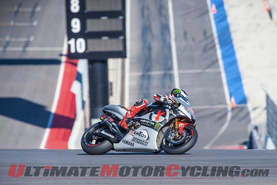 Austin COTA Gets First MotoGP Shakedown; Marquez Leads
