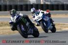Yamaha's Josh Herrin leads Suzuki's Martin Cardenas
