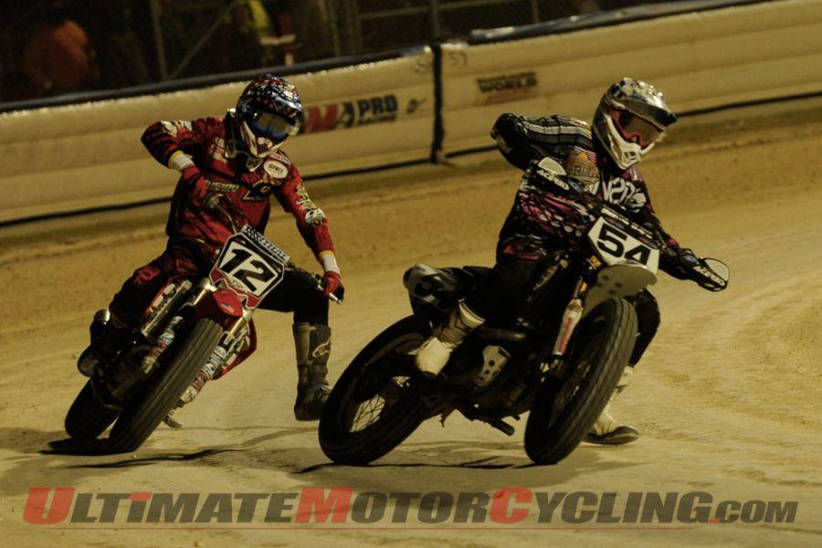 2013 Daytona I Flat Track | Honda's Rush Takes Grand National Win