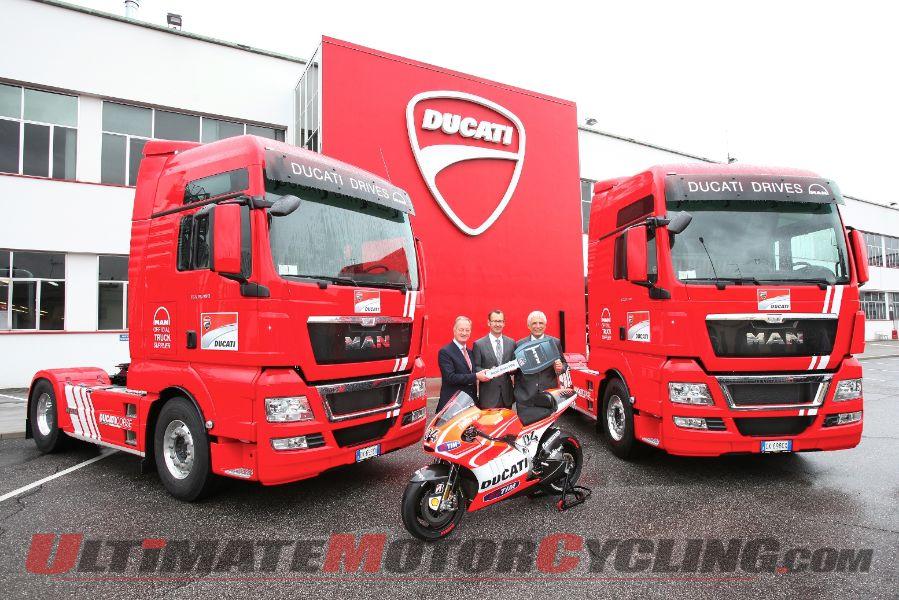 Ducati MotoGP Team MAN Tractors