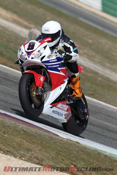 Honda TT Legends' Michael Dunlop