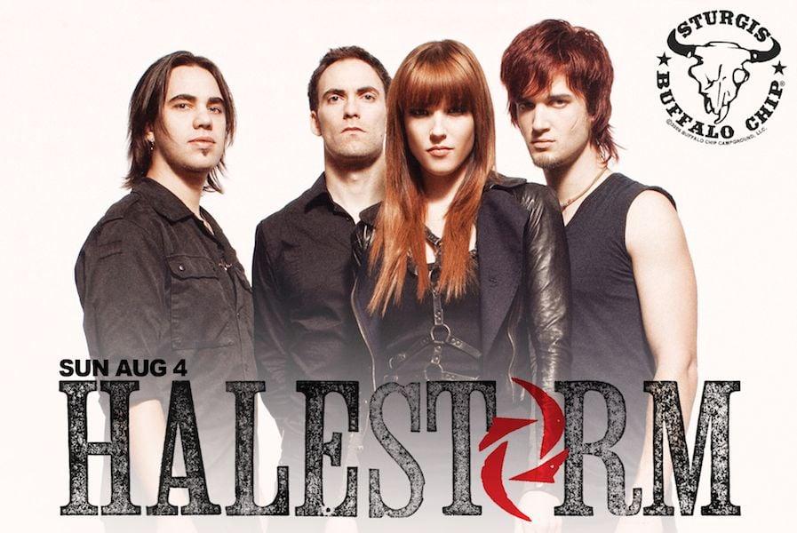 Halestorm Joins Sturgis Buffalo Chip Music Festival Lineup