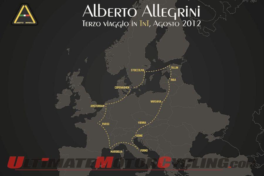 Italian Pilots Benelli TNT on Third Trip Across 13 Countries