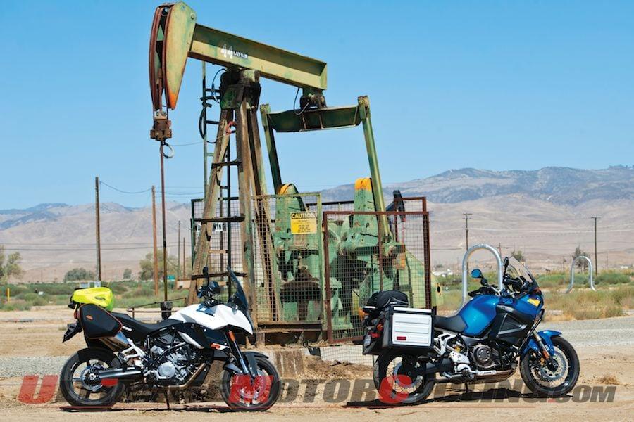 Yamaha Super Tenere & KTM SM T | Touring Cali's Desolate Triangle