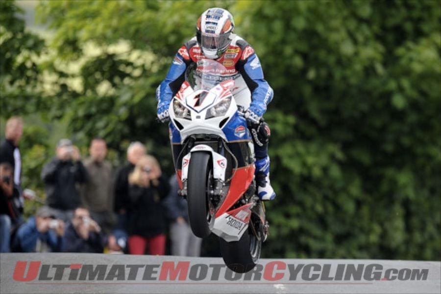 McGuinness to Pilot CBR500 R at 2013 Lightweight TT
