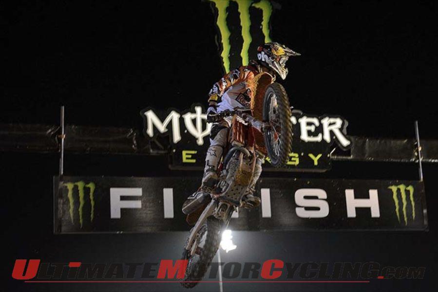 KTM's Jeffrey Herlings (MX2 Class)