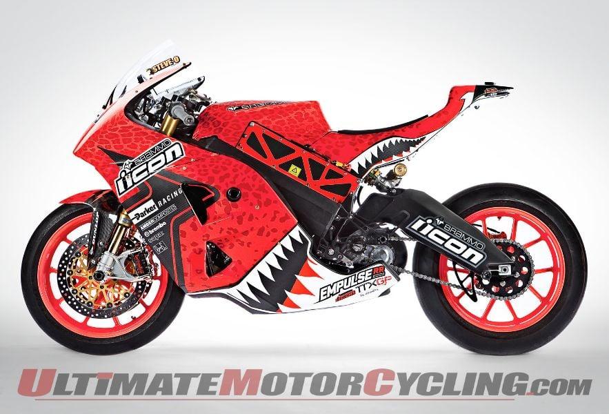 2013 Team Icon Brammo Race Bikes | Unveiled