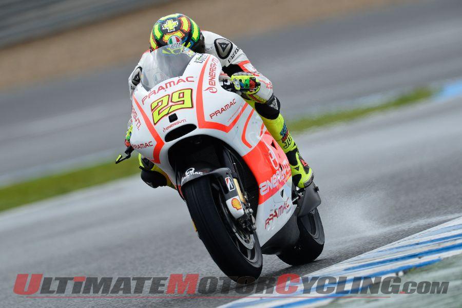 Yamaha's Lorenzo Leads Day 1 of Jerez MotoGP Testing
