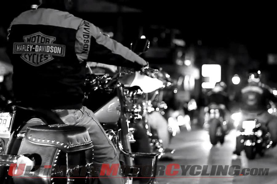 Downtown Daytona during Daytona Bike Week 2013