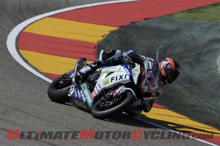 Aragon Superbike: Aprilia's Laverty Tops Friday Qualifying