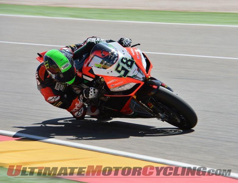 Kawasaki's Sykes on Pole for 2013 Aragon World Superbike