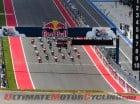 Start of 2013 Austin MotoGP