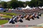 British Superbike start at Brands Hatch