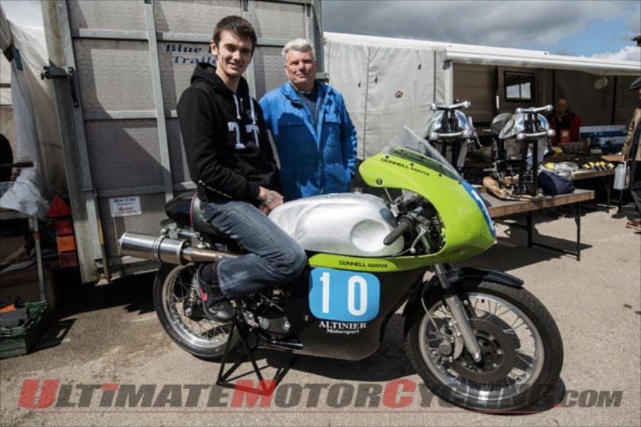TT Star Conor Cummins to Ride Dunnell Manx Nortons