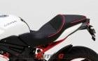 Corbin Dual Saddle on Triumph Speed Triple