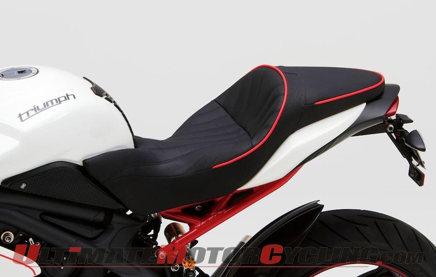 Corbin Dual Saddle Seat for 2011-2013 Triumph Speed Triple