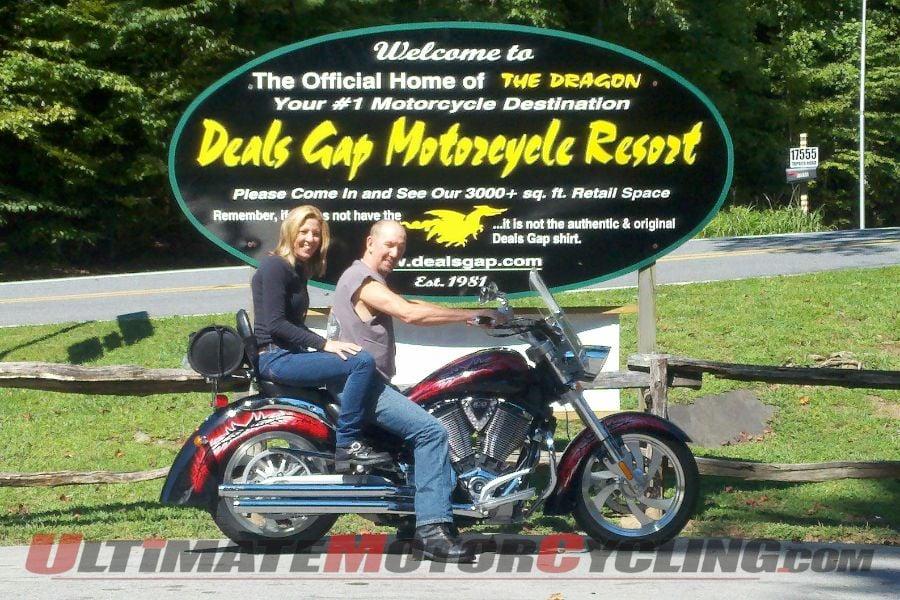 Meeting a Hometown Motorcyclist 800 Miles Away at Deals Gap