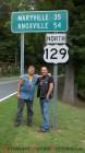Dennis Skiro and Joe Humanick at Deals Gap
