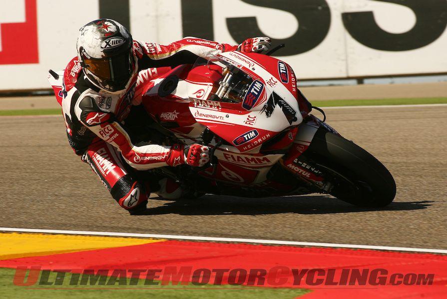 Ducati Alstare's Checa & Badovini Complete Jerez SBK Test