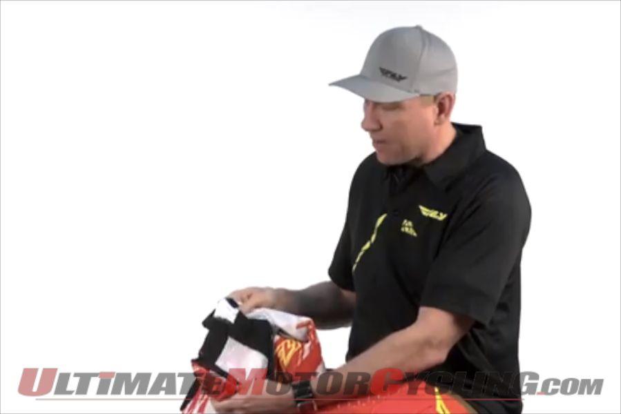Fly Racing Explains Kinetic Shock Mesh Racewear (Video)