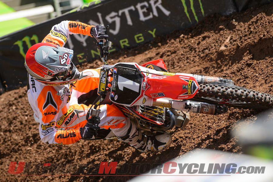KTM's Roczen's DNQ Gives GEICO Honda's Tomac New SX Life
