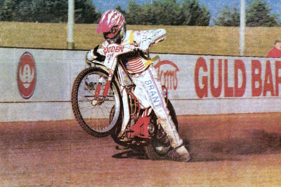 Speedway Champion Billy Hamill
